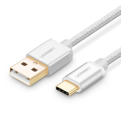 Ugreen USB Type C (公) to USB 2.0 (公) 編織極速傳輸充電線