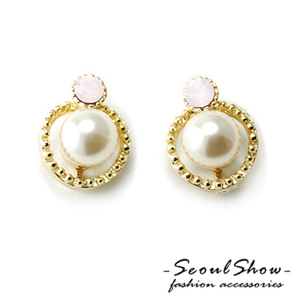 【Seoul Show】韓國直送 天使羽衣  針式耳環