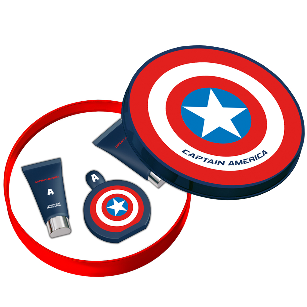 MARVEL CAPTAIN AMERICA 美國隊長男性香水禮盒