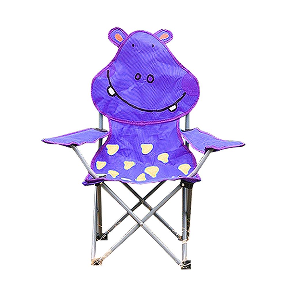 韓國SELPA 卡通動物折疊椅 紫色