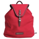 SEE BY CHLOE LILIAS 品牌皮標LOGO帆布後背包(紅色)