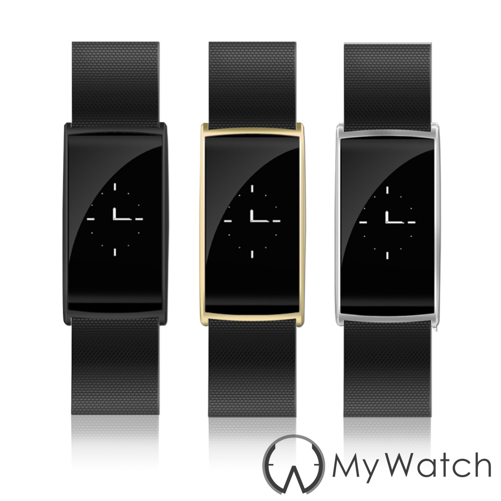 My Watch 健康守護藍牙智慧手環(IP67防水/心率) MY08