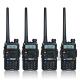 【隆威】Ronway F2 白幕版 VHF/UHF雙頻無線電對講機(4入組) product thumbnail 1