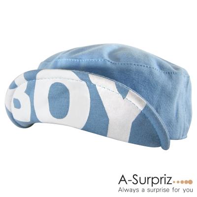 A-Surpriz 活力閃耀BOY反摺帽(淺藍)