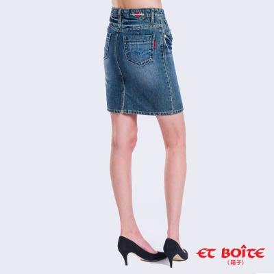 日本藍 BLUE WAY 基本款上班緊身短裙
