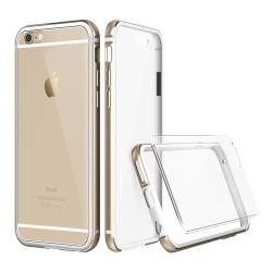 透明殼專家 iphone 6 plus / 6s plus 金屬邊框(手機殼)+保貼組