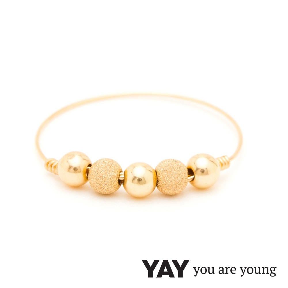 YAY You Are Young 法國品牌 Fruit Dor 雅果戒指 經典款 金