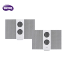 BenQ靜電藍牙揚聲器treVolo(S)WT白色版 超值2入組