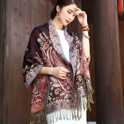 Seoul-Show-曼荼羅-祕語-棉質編織圍巾披