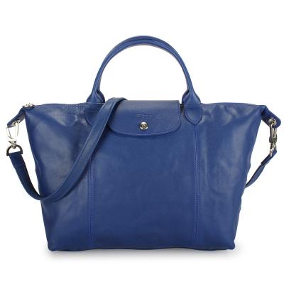 Longchamp-Le-Pliage-Cuir小