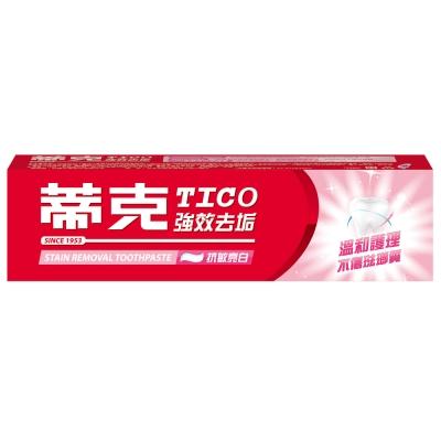 蒂克 強效去垢牙膏-抗敏亮白(120g)