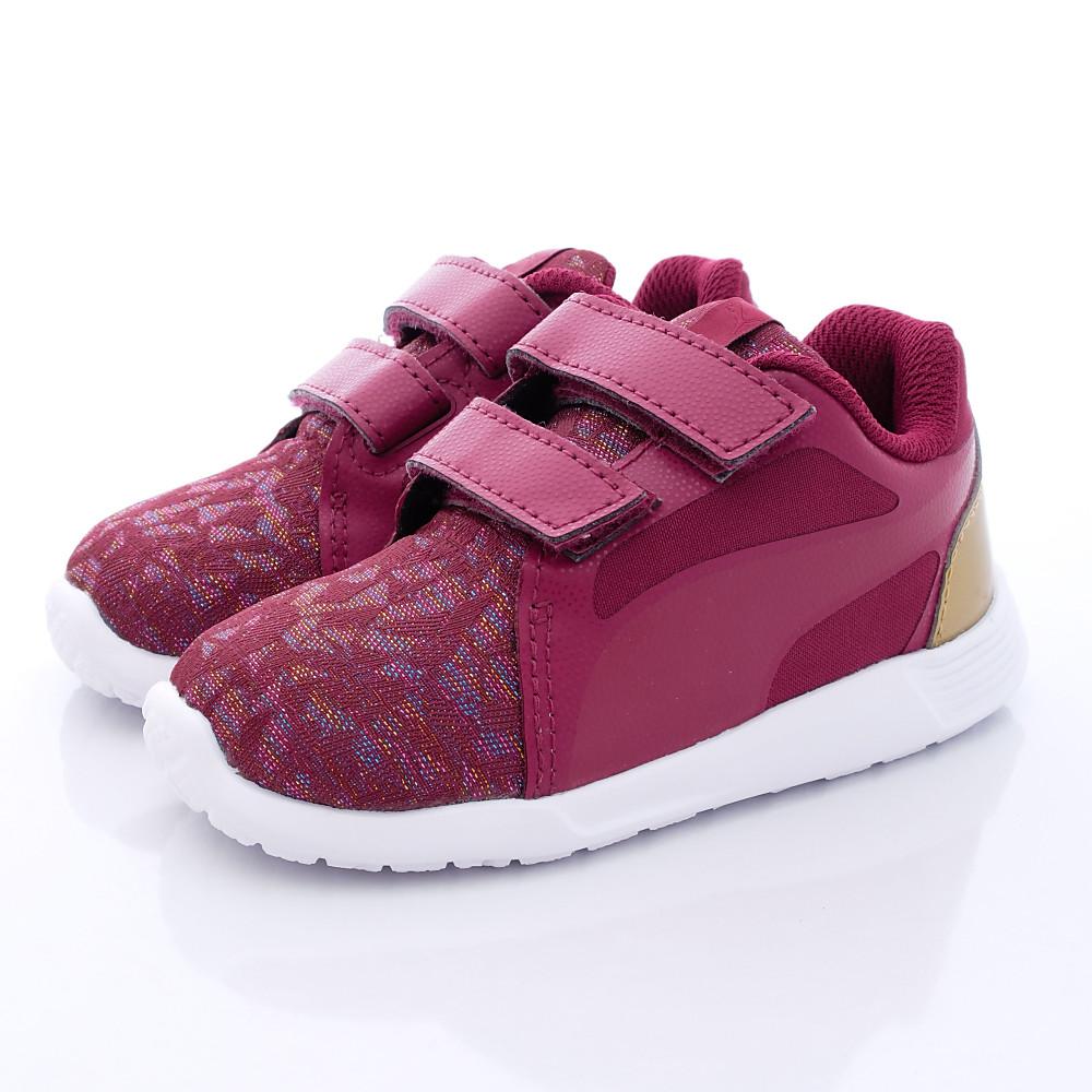 PUMA童鞋 閃耀金線雙絆帶款 TH6153902 紅 (小童段)T1