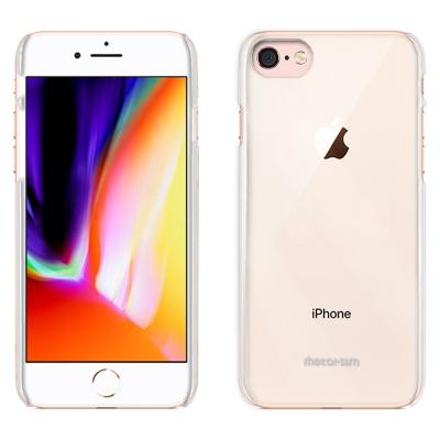 Metal-Slim Apple iPhone 8 高抗刮PC透明新型保護殼