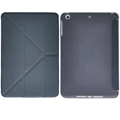 ATCOM Apple iPad Mini 1/2/3 簡約軟殼掀式平版保護套(黑色)