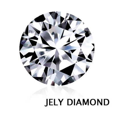 JELY DIAMOND GIA 3EX 0.35ct F / VS2 天然美鑽