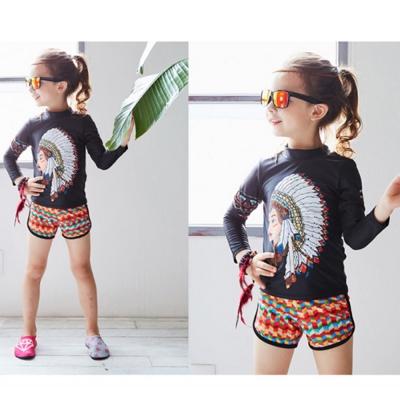 Biki比基尼妮泳衣   印地安兒童泳衣泳裝(M- 3 XL)