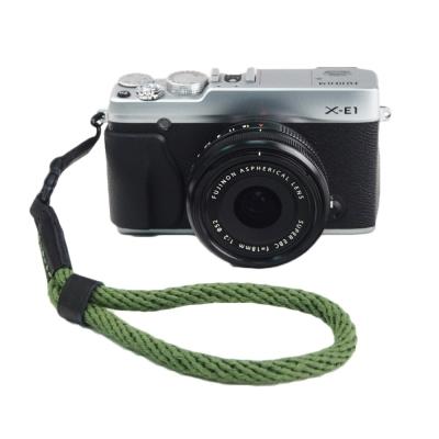 Cam in 棉織細繩款相機手腕帶(共五色)-草綠色