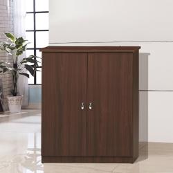 凱曼 羅芙2.5尺雙開門鞋櫃-兩色可選