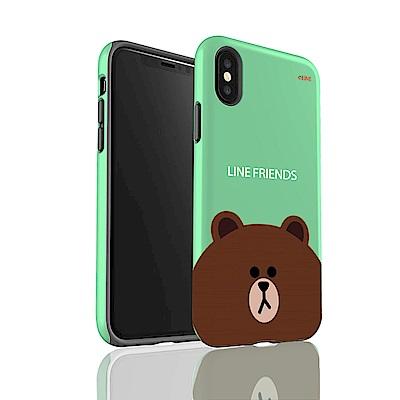iStyle iPhoneX  LINE  熊大雙層手機殼
