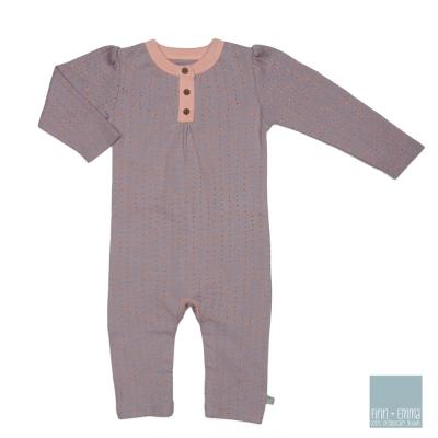 美國 FINN & EMMA 有機棉長袖連身衣 (夢遊仙境)