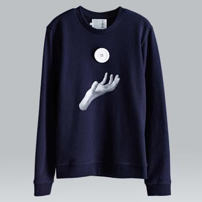 摩達客韓國進口設計品牌DBSW地心引力圓領長袖T恤