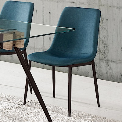Boden-維文現代簡約餐椅/單椅(四入組合)-52x56x82cm