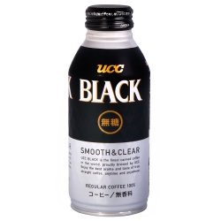 UCC SMOOTH&CLEAR黑咖啡(375ml)