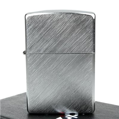 ZIPPO美系-Diagonal Weave-對角拉絲刷紋鍍鉻打火機