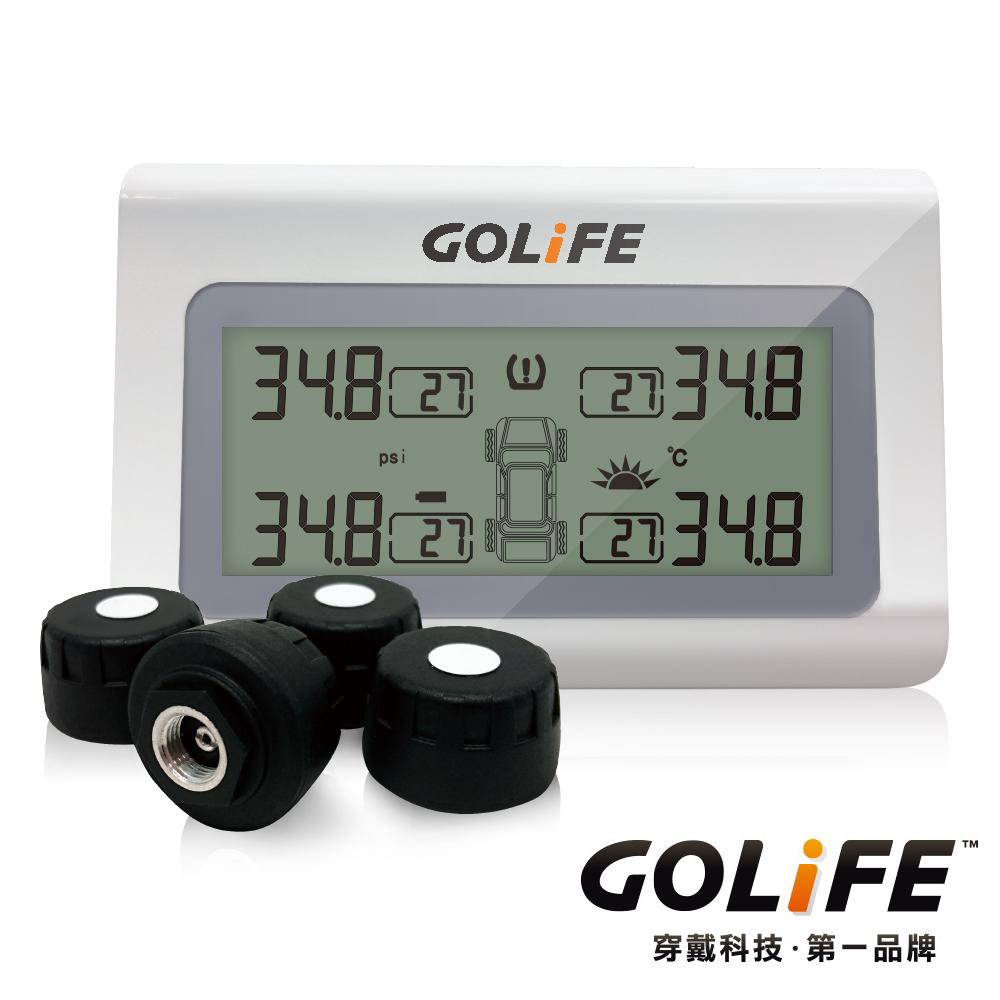 GOLiFE GoTire 100 TPMS 無線太陽能胎壓偵測器(胎外式)-快