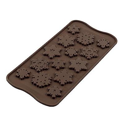 義大利製SiliKoMart巧克力/果凍/冰塊模具(冬季雪花)