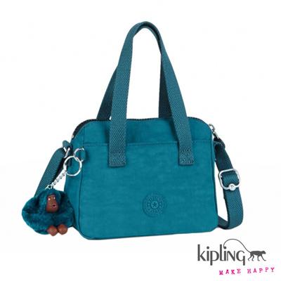 Kipling-手提包-水手淺藍素面