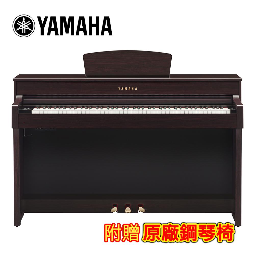 YAMAHA CLP-635 R 88鍵標準數位電鋼琴 深玫瑰木款