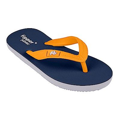 Fipper JUNIOR 天然橡膠拖鞋 BLUE-YELLOW