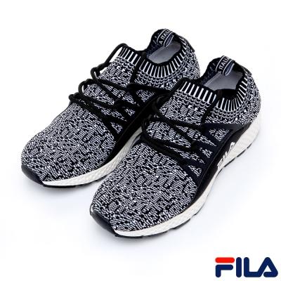FILA女RELAX輕量多功能慢跑鞋-灰5-J307R-401