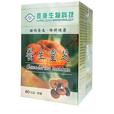 長庚生技 養生靈芝2入(60粒/瓶)