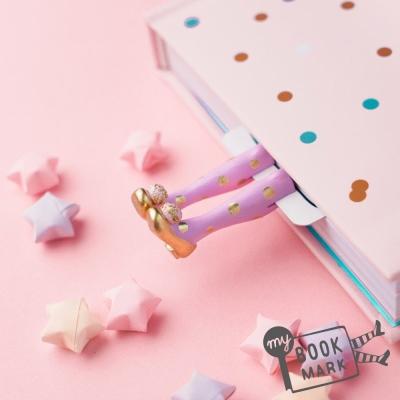 禮物myBookmark手工書籤-金色舞鞋小精靈
