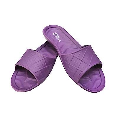 HOME WORKING 第二代 EVA環保室內拖鞋/紫色