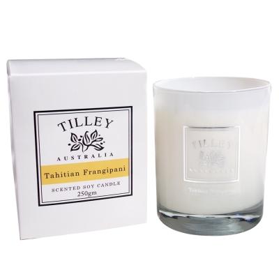 Tilley百年特莉 大溪地素馨花香氛大豆蠟燭240g