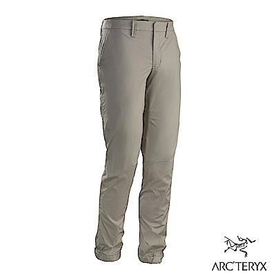 Arcteryx 24系列 男 Starke 休閒縮口長褲 銀劍灰
