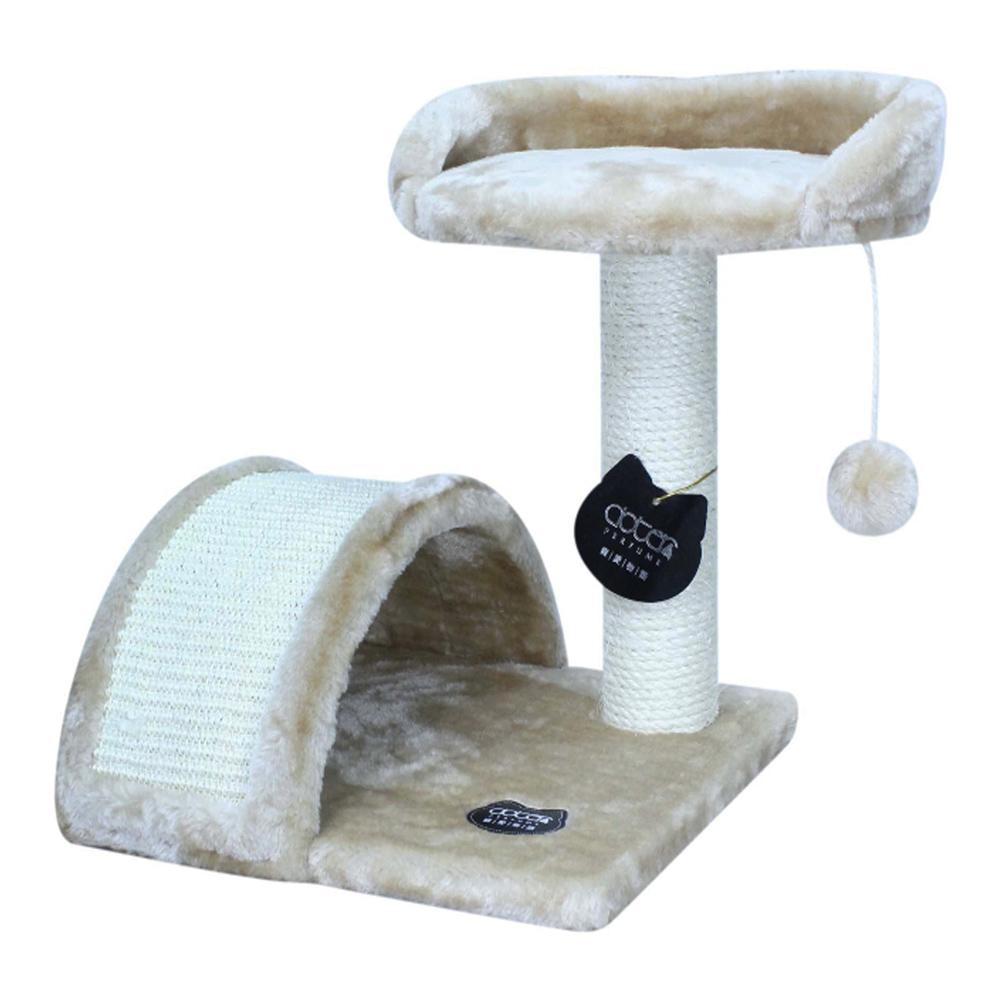 Doter寵愛物語 高腳椅貓跳台 全貓用 米色 x 1入