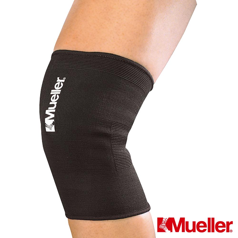 MUELLER慕樂 彈性膝關節護具 黑色 護膝(MUA425)