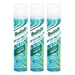*Batiste 秀髮乾洗噴劑 經典清新200mlx3入
