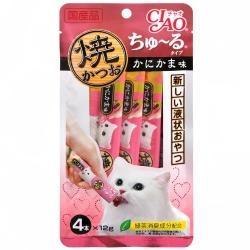 CIAO 鰹魚燒肉泥(4入)