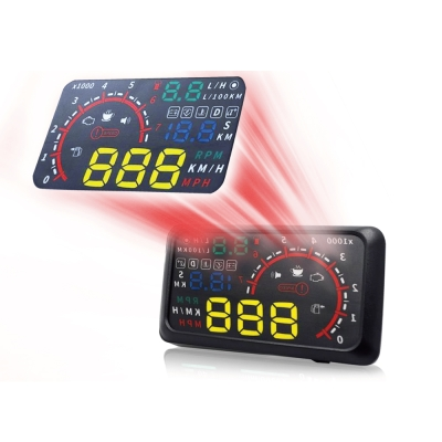 FLYone RM-H4 HUD OBD2 抬頭顯示器-急速配