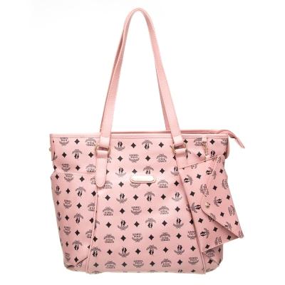 【XINWEI POLO】奢華LOGO風雙側口袋包款附零錢包(6318)-粉色