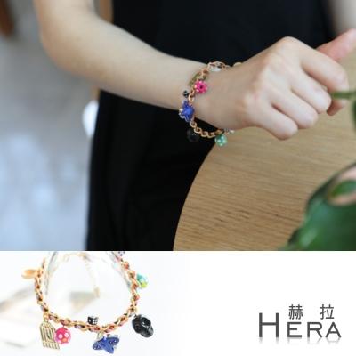 Hera 赫拉 小船飛機可愛多元素編織彩色手鍊