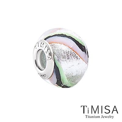 TiMISA 理性(11mm)純鈦琉璃 墜飾串珠
