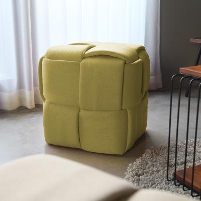 H&D Freda 弗莉達編織造型方形椅凳_49*49*50cm/多色選