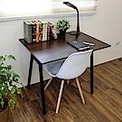 Amos-環保粗管90公分A型工作桌/書桌90*60*75