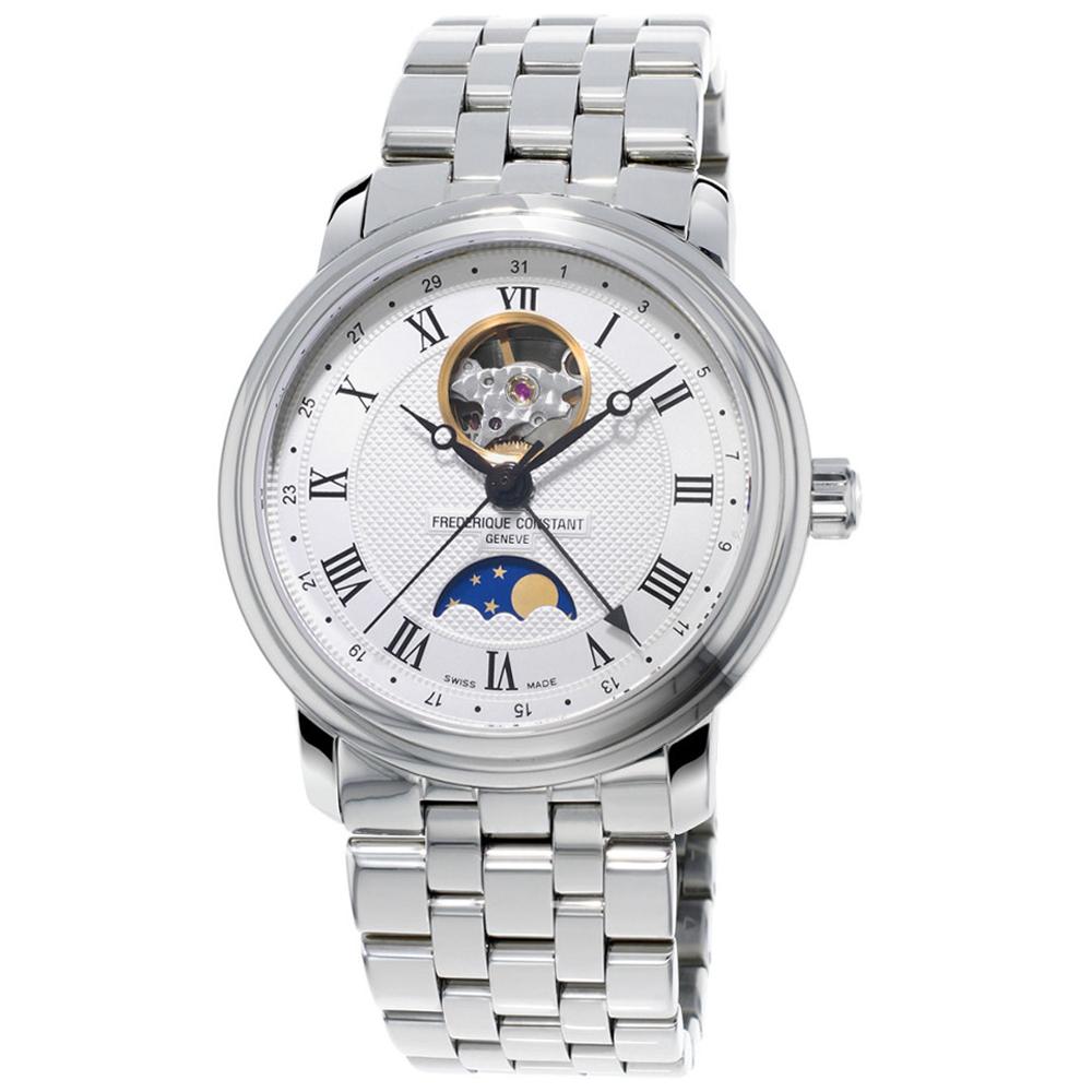 康斯登 CONSTANT  CLASSICS百年經典系列心跳月相腕錶-40mm
